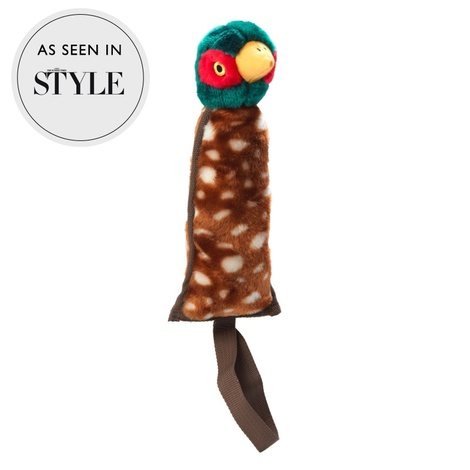 Woodland Pheasant Thrower Dog Toy