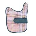 Pink Shetland Wool Waxed Dog Coat 2