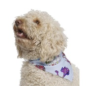 Pet Pooch Boutique - Blue VW Dog Bandana