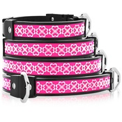 Cool Dog Club - Cool Dog K9 Striker MK1 Celtic Heart Pink Dog Collar