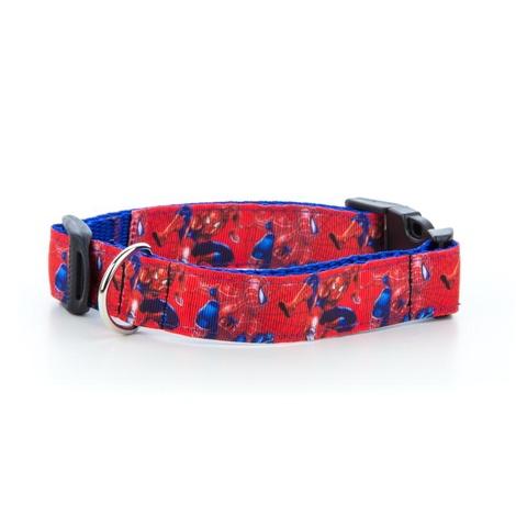 "Spiderman Dog Collar  1"" Width"