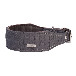 DO&G Silk Expressions Dog Collar - Grey