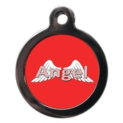PS Pet Tags - Angel Dog ID Tag