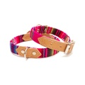 Pink INCA Dog Collar 2