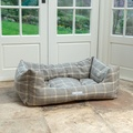 Slate Tweed Boxy Bed  3