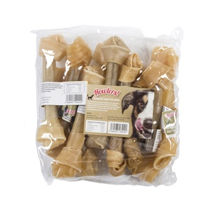 Howlers Natural Rawhide Knotted Bones