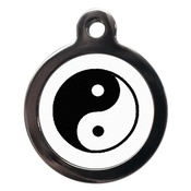 PS Pet Tags - Yin Yang Pet ID Tag
