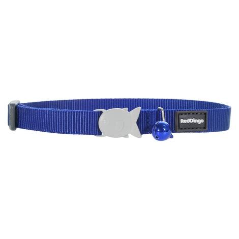 Plain Dark Blue Cat Collar