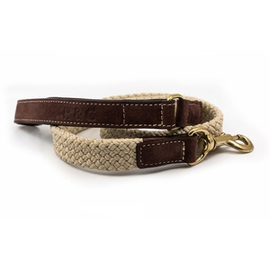 Rope lead (flat) - Brown