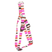 Yellow Dog - Multi-Stripe Step-In Dog Harness