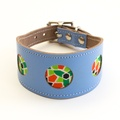 Mosaic Blue Hound Collar