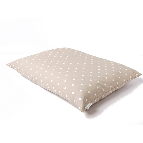 Cotton Top Day Bed - Dotty Taupe 2