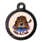PS Pet Tags - Hide & Peek Dog ID Tag