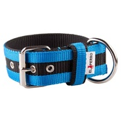 El Perro - Juicy Strip Dog Collar - Sky Blue