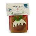 Rawhide Christmas Pudding Card