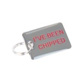 K9 I've Been Chipped Dog ID Tag