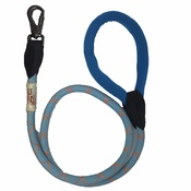 Long Paws - Comfort Rope Dog Lead – Blue