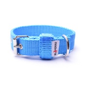 El Perro - Double Dog Collar – Sky Blue