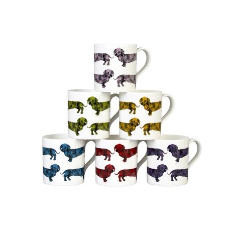Dachshund Mug - Turquoise 2