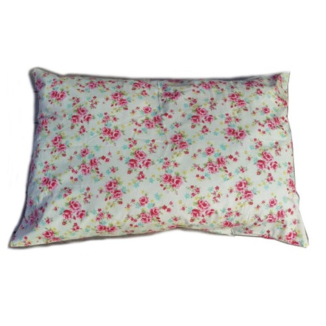 Cream Vintage Floral Cushion Dog Bed 2