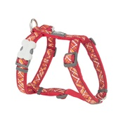 Red Dingo - Flanno Dog Harness – Red