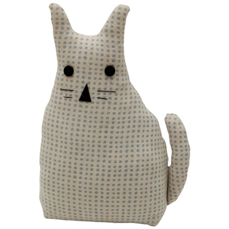Morgan Wright Country Lace Cat Doorstopper Powder Blue