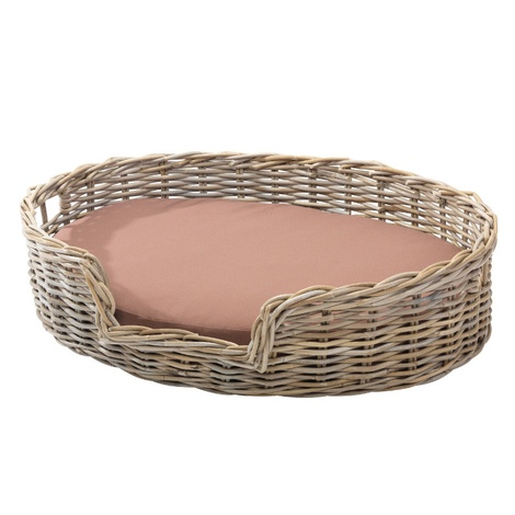 Rattan Kubu Dog Basket - Oval 2