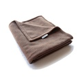 Double Fleece Dog Blanket - Mocha