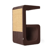 Catworks - Scratching Post - Letter G - Brown