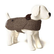Mutts & Hounds - Herringbone Tweed Dog Coat