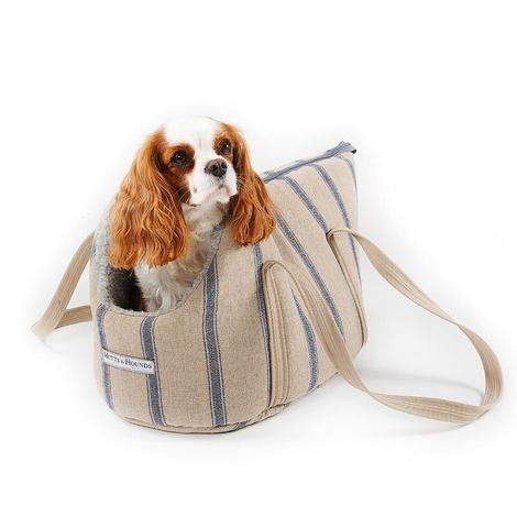 Nordic Stripe Dog Carrier