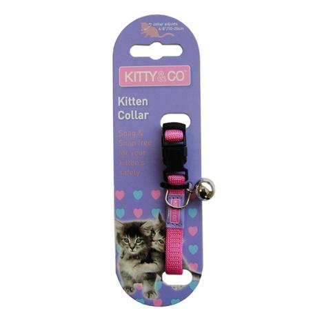 Snag & Snap-Free Kitten Collar - Pink