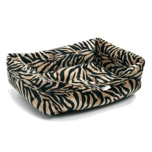 Antelope Faux Fur Dog Bed