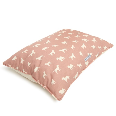 M&H Old Rose Pillow Bed