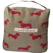 L&S Interiors - Red Daxi Doorstop