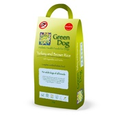 Green Dog - Turkey and Brown Rice Puppy 2 kg