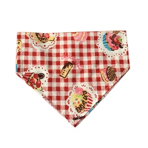 Red Pups Picnic Dog Bandana
