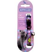 Hem & Boo - Snag & Snap-Free Reflective Cat Collar - Purple