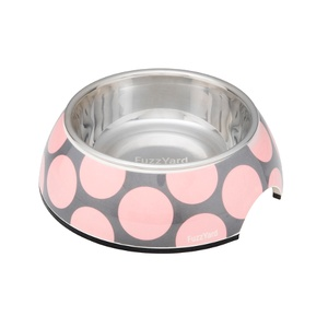 Bubblelicious Bowl - Pink & Grey