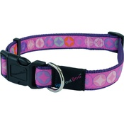 Hem & Boo - Diamonds Adjustable Dog Collar - Pink