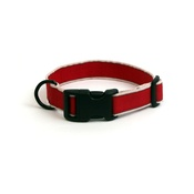 Long Paws - Secret Agent Dog Collar - Red