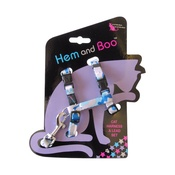 Hem & Boo - Blue Camouflage Cat Harness & Lead Set