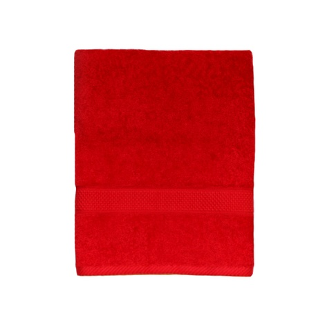 Personalised Towel - Red (Pack of 10)