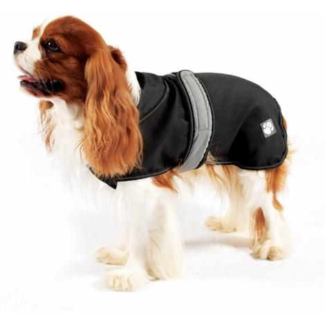 Reflective Dog Coat - Black