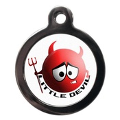 PS Pet Tags - Little Devil Pet ID Tag