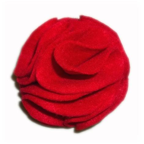 Poppy Red Collar Flower