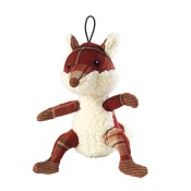House of Paws - Rustic Tweed Plush Fox Dog Toy