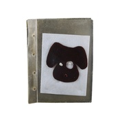 Reg & Ruby - Dog Face Edible Card