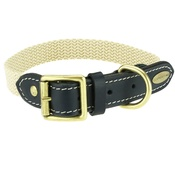 Clementine est. Dogs - Astor Webbing Dog Collar – Black