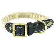 Clementine est. Dogs - Astor Webbing Dog Collar – Black